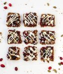 Cranberry Ginger Snap Bars