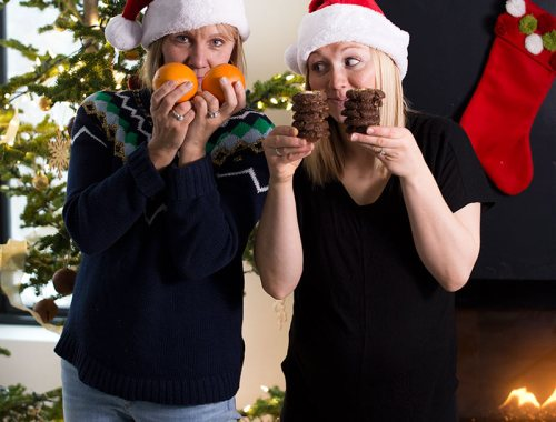 How to be Healthy Through the Holidays: a few tips on how to make healthy decisions through the holiday season, even when bombarded with treats!