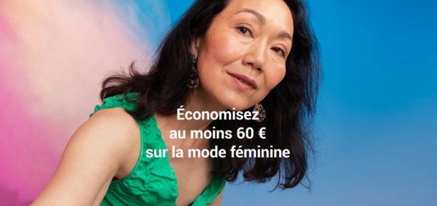 Economisez au moins 60 euros
