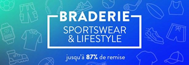 Braderie sports