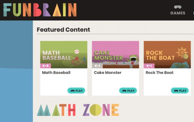 best free maths games for kids-Funbrain.com