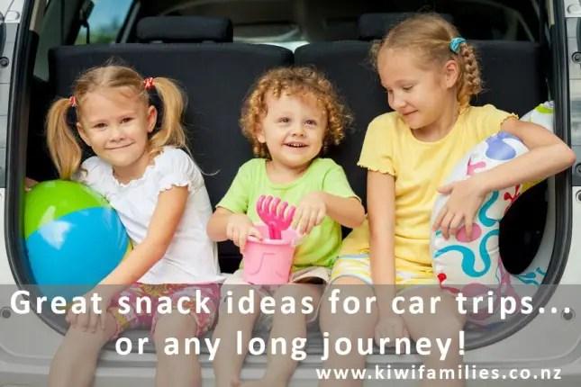 snacks for car trips