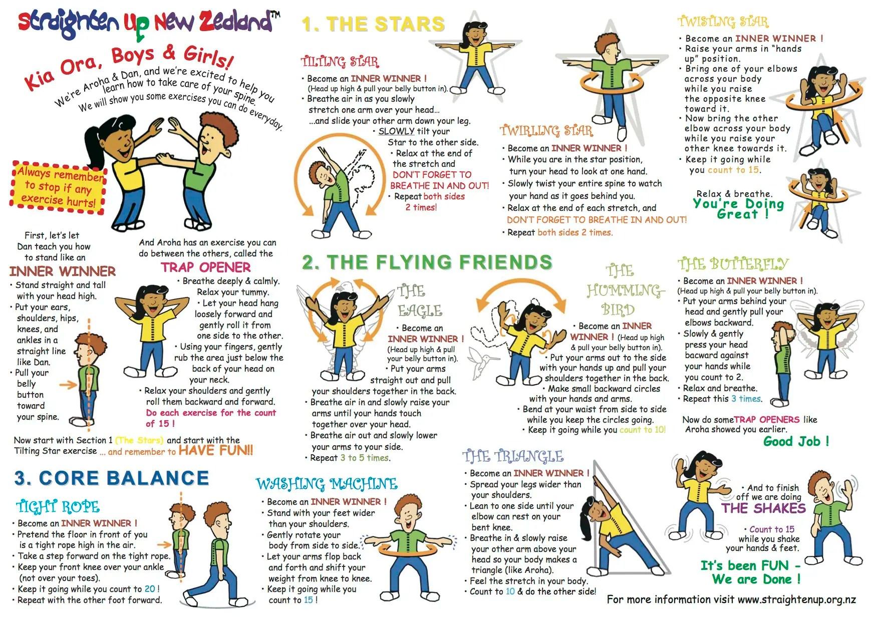 Chiropractic Activities For Kids