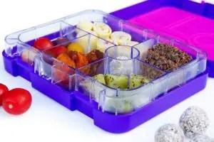 bento lunch box purple
