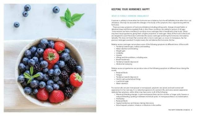 Happy hormone cookbook