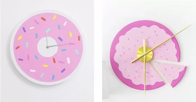 how to make a painted clock kids