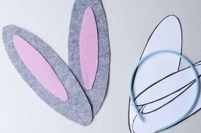 how to make bunny ears inner ear