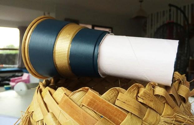 toilet roll telescope
