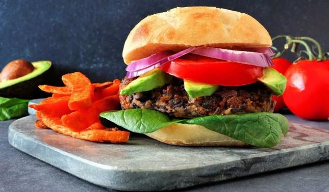 Kumara and Cannellini Burgers
