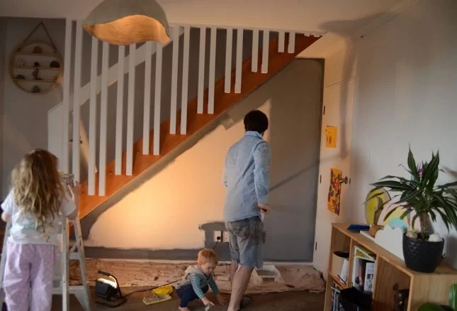 Under-stairs-kids-study-nook-undercoat