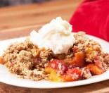 Rhubarb and Raspberry Crumble Recipe