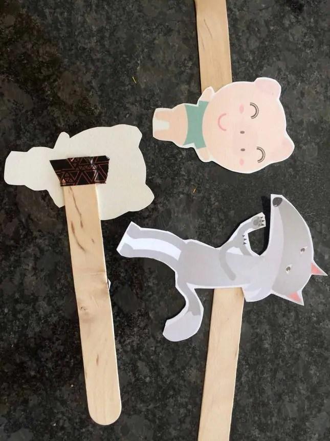 shoebox theatre houses little pigs