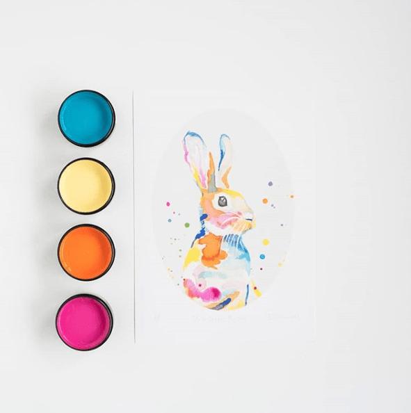 Resene colour pallet rabbit