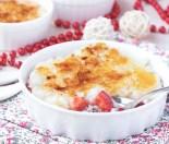 Rice pudding brulee recipe