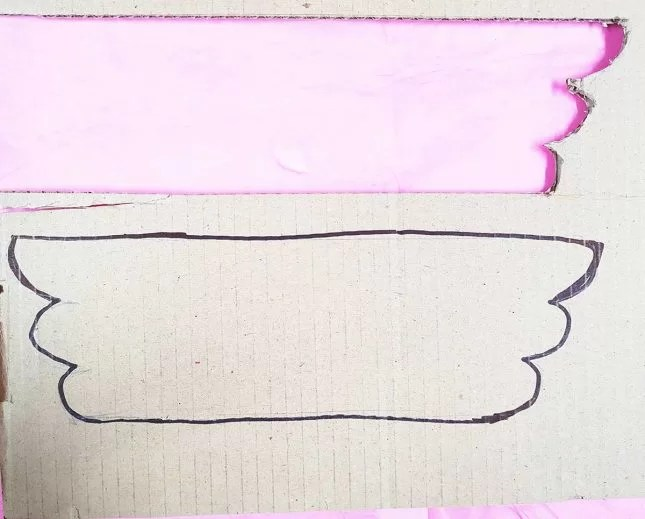 DIY Wooden Christmas Angel wingcut