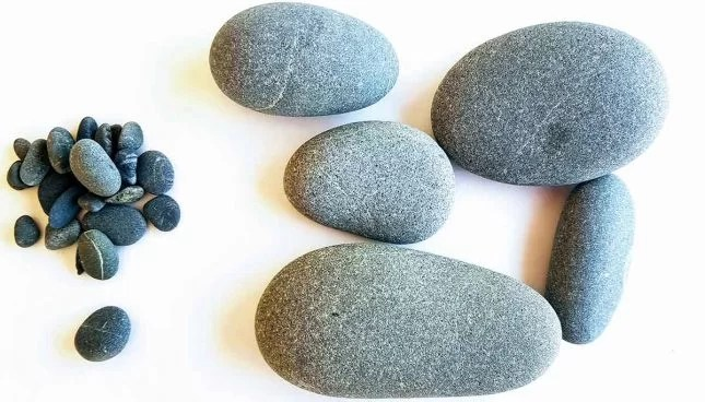 DIY rock cactus painted stones