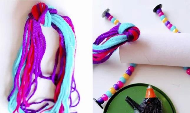 unicorn knot and tail
