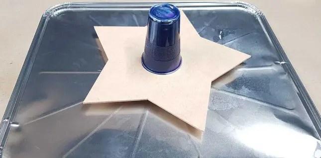 Matariki star acrylic pours tip