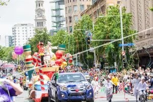 Farmer's Santa Parade