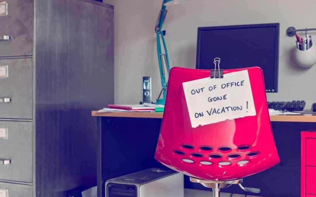 Entrepreneurs : quelques conseils pour partir en vacances l'esprit tranquille