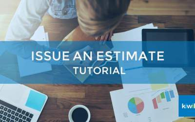 Issue an Estimate with Kiwili