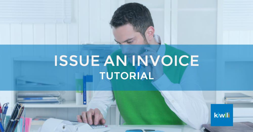 Issue an Invoice with Kiwili