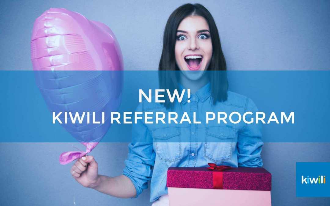 Kiwili Launches Its Referral Program