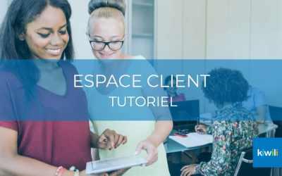 Gérer sa relation client avec l'Espace client de Kiwili