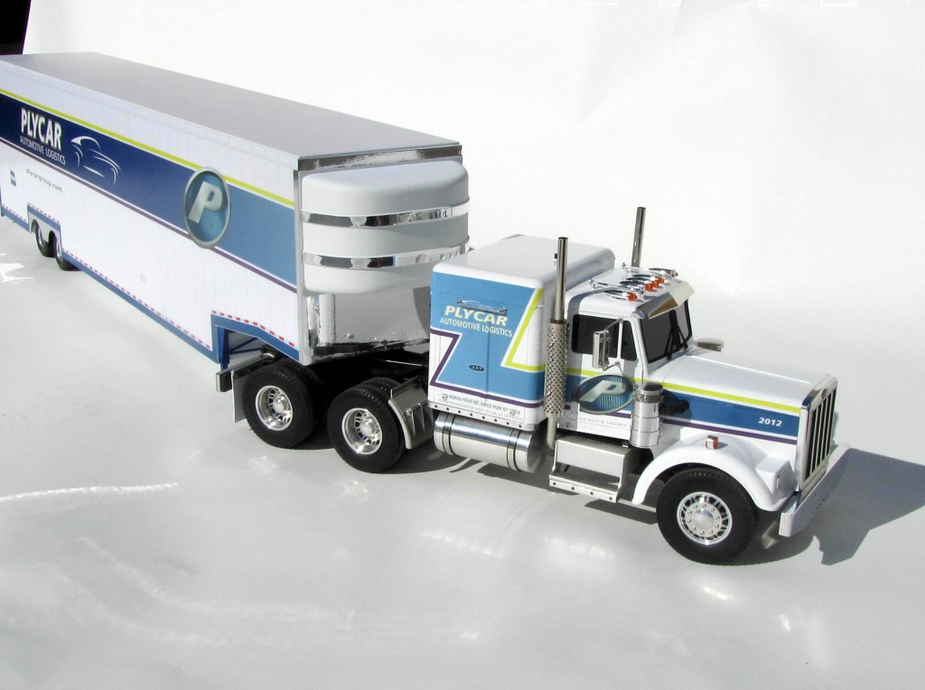 Custom Built Semi Trucks