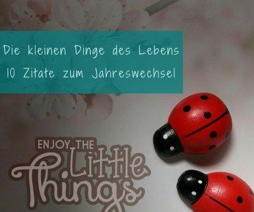 kleinen Dinge des Lebens