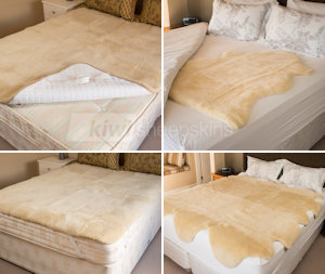 Sheepskin Bed Covers