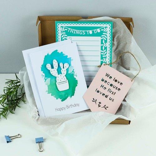 Cacti Card Gift set
