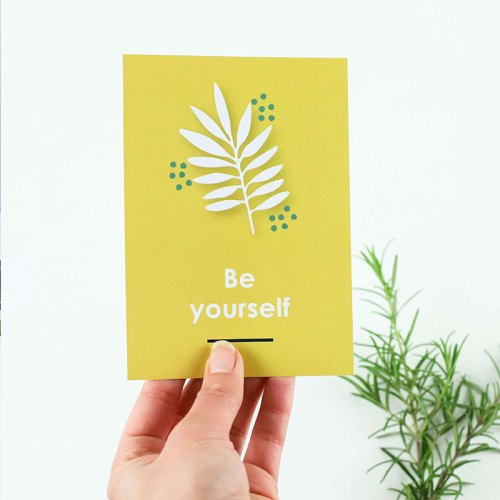 You can do this Postcard Set (Set of 6)