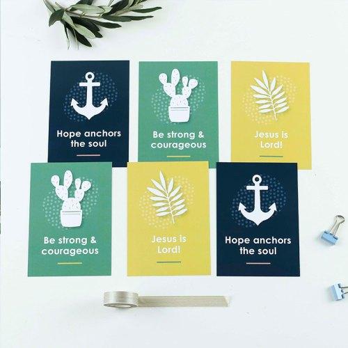 Jesus Is Lord Postcard Set (Set of 6)