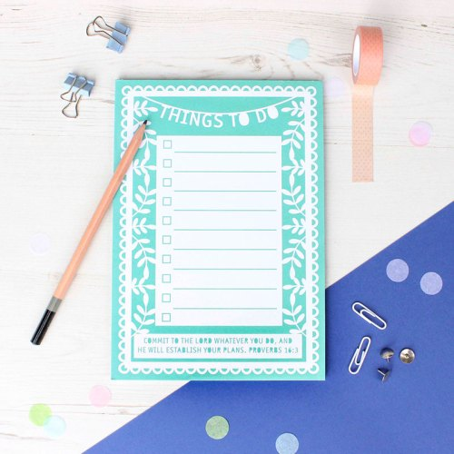 A5 'Things to do' Notepad