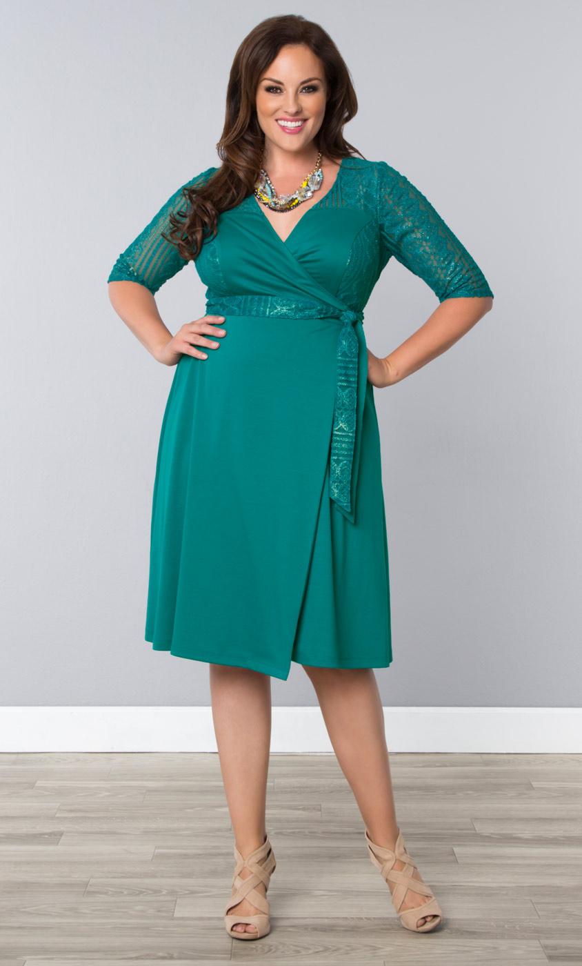 Plus Size Cocktail Dresses In Green 1 Ravishing 092315jpg