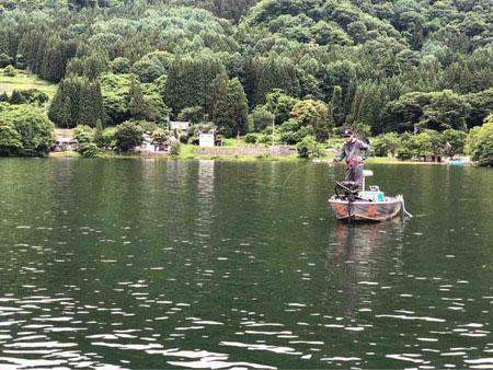 木崎湖モダンボートシリーズ戦2