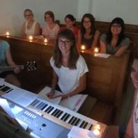 Juli-Jugendvesper rührte unsere KJ-Gemeinschaft an!