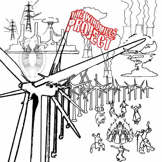 "Windmills Project death0 Disco 10"" ltd edition EP"