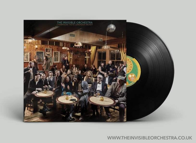 2017 Invisible Orchestra - Champagne Taste, Lemonade Money - Mastered