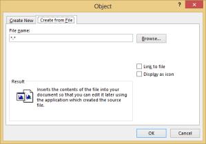 kjc word insert an object - kjc - word - insert an object