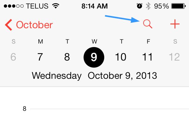 iOS 7 Tip #16: How To List Calendar Items in List View