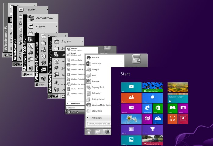 95 to Present.0 - A History of the Windows Start Menu