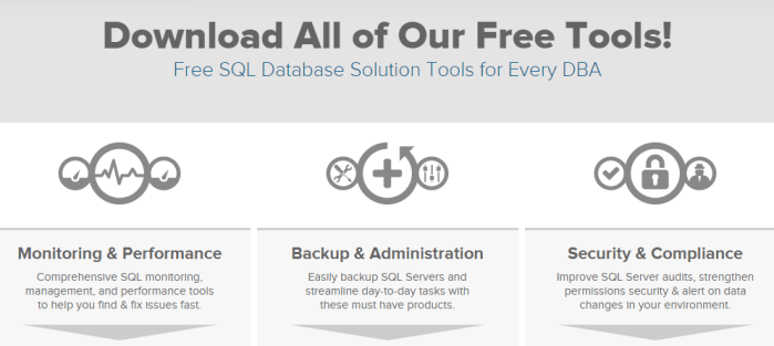 Check Out Our Free SQL Tools   Idera 2016 02 23 22 38 57 - 17 Free Database Tools for Every DBA