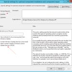 Install .Net Framework 3.5 on Windows 8.1 & 10 with WSUS