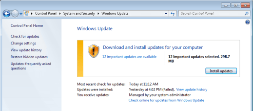 Windows update back to work again. - Fix Windows Update Cannot Search for New Updates Error 80244008