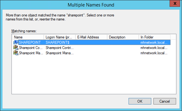 Permission window select computer - How To Access A Shared Network Folder with Local Network Service Account