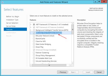 Server 2012 BitLocker drive feature - Server 2012 - BitLocker drive feature