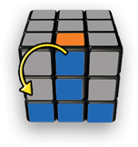 Rubiks Cube Step 3 tip 2 - 5-Step to Solve A 3x3 Rubik's Cube