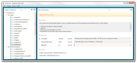 Database Note Taker - Database Note Taker